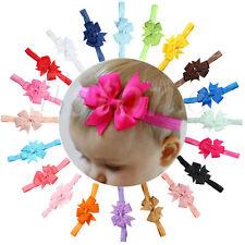Headband Kids Girl Baby Toddler Bow Flower Hair Band Accessories Headwear 10PCS
