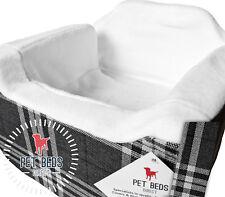 Dog Car Booster Seat Safety Travel Safe Puppy Pet Soft Medium(32x55x55) Charcoal