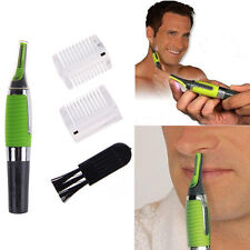 Personal Hairs Nose Ears Trimmer Clipper Shaver with LED light for Men and Women
