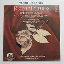 CFP 40327 - R STRAUSS - Der Rosenkavalier DEL MAR London PO - Ex Con LP Record
