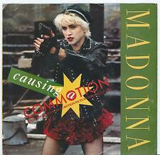 "MADONNA (FROM ""WHO'S THAT GIRL""') ""CAUSING A COMMOTION"" 45  & PICTURE SLEEVE"