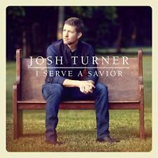 JOSH TURNER I SERVE A SAVIOUR CD (2 Bonus Tracks) (Released August 30th 2019)