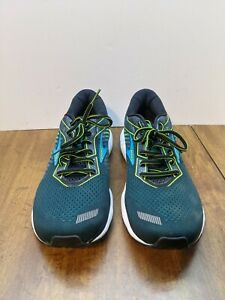 Brooks Ghost 12 Mens Size 13 Green Running shoes