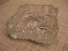 Kristall - Aschenbecher 15 x 15 cm