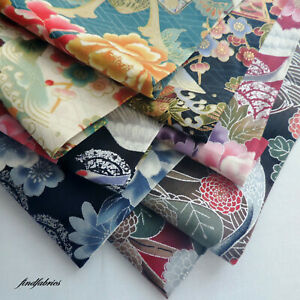 Japanese Quilting Fabric Metallic by Nutex Cotton Patch Craft Sewing Per ½ metre