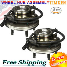 TIMKEN (2) Brand Complete Wheel Hub and Bearing Assembly ABS For Ford Explorer