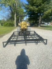 New 10 Bale Hay Accumulator Grapple Hydraulic Skid Steer Attachment Can Ship