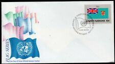 United Nations 1980 - New York - Fiji - Flag - FDC