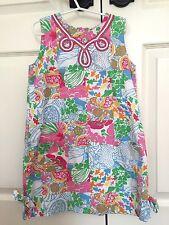 EUC Lilly Pulitzer Sz 6 Sleeveless Lined Dress Accent Stitching