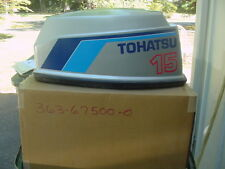 Tohatsu/Nissan 15hp Hood/Outboard Engine Cover NOS 363-67500-0 Old Style  H18