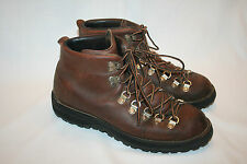 VTG DANNER HIKING TRAIL BOOTS LEATHER GORE-TEX VIBRAM 8 M USA NICE!!