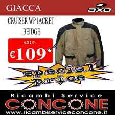 GIACCA CRUISER BEIGE BLACK AXO MS6664QK TAGLIA XL