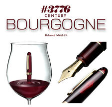 Platinum #3776 CENTURY SF (Soft-Fine) nib (BOURGOGNE) 14k fountain pen