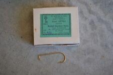 New Mustad Aberdeen 90 Degree Gold Fish Jig  Hook Size 4/0 32762 100 hooks