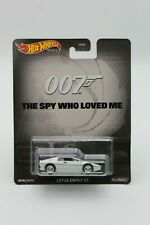 Hot Wheels Premium Lotus Esprit S1 007 The Spy Who Loved Me 1/64 FREE SHIPPING