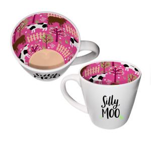 Inside Out Mug - Silly Moo ISO167 - Tea Or Coffee Mug New Gift Boxed