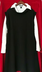 Gap Maternity Shift Dress Black, Knee Length, Size L; Made in Vietnam