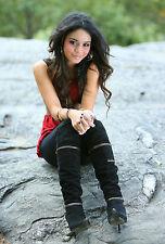 Vanessa Hudgens 8X10 sexu boots red top
