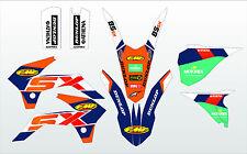 2013 - 2017 KTM SX 85 Kit De Gráficos Pegatinas Calcomanías