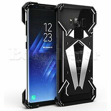 R-JUST Man Armor Shockproof Aluminum Metal Case Cover For Samsung Galaxy S8 Plus