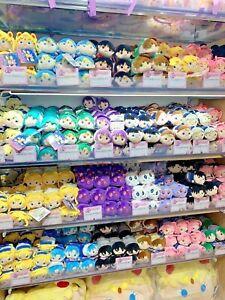 Sailor Moon Store Limited Tsum Tsum Mascot Plush All characters! Luna humanoid!