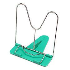 1 PCS Portable Adjustable Frame Reading Rest Book Holder Stand Bookrest Green