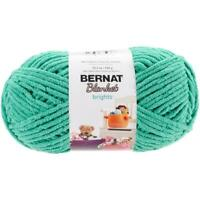 Bernat Blanket Brights Big Ball Yarn, Go Go Green, 10.5 Oz Ea, 100% Polyester