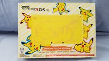 Nintendo New 3DS XL - Pikachu Yellow Edition [Discontinued] Brand New