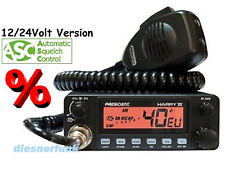 CB Funk PRESIDENT HARRY III 3 12/24Volt ASC Multi 6Band AM/FM LKW Actros MAN TGA