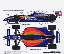 1/25 CART J. Manville decal/Tamiya /F1