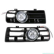 FOR VW Golf GTI/TDI MK4 99-04 FRONT BUMPER DRIVING FOG LIGHT+GRILLE COVER INSERT