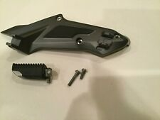 BMW K1600 Right  Plate, Rear Footpeg and  Fasteners - 4671 7716014