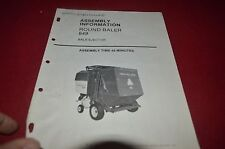 New Holland 849 Round Baler Bale Ejector Assembly Manual DCPA6