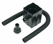 FloPlast Rainwater Diverter Kit Black Water Butt Fits Square & Round Down Pipes