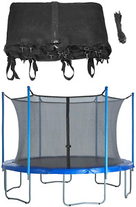 Upper Bounce Trampoline Replacement Enclosure Safety Net, Fits For 8 FT. Round 8