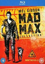 The Mad Max Trilogy [Blu-ray] [2013] [Region Free], Very Good DVD, Syd Heylen,Kj