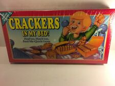 Vintage PARKER BROTHERS 1992 CRACKERS IN MY BED BOARD GAME New & Sealed Family