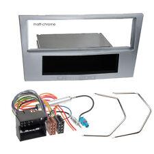 OPEL CORSA D 06-08 1-DIN radio de voiture Set d'installation RADIOBLENDE chromé