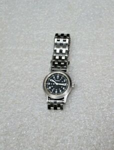 Vintage Benrus Stainless Mil-W-46374  Mens Watch Vietnam 1960's 1970's