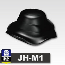 Black Boonie Hat Cap for LEGO army military brick minifigures
