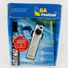 Aiptek Vintage VGA Pencam Trio 3-1 Digital Camera Camcorder PC Windows 98/2000