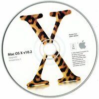 2002 Mac OS X Version 10.2, 3 Disks, Includes Developer Tools