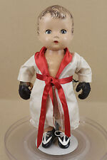 "Vintage Original 1946 Effanbee Candy Kid Composition BOXER Doll ""The Champ"""