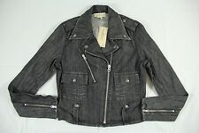 Denim & Supply Ralph Lauren Black Metal Accent Cotton Denim Jacket S BNWT