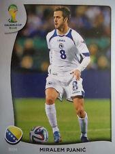 Panini P5 Miralem Pjanic Bosnien und Herzegovina FIFA WM 2014 Brasilien