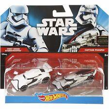 Star Wars 1st Order Stormtrooper VS Captain Phasma by Hot Wheels