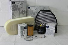 Genuine Mercedes-Benz W204 C-Class Diesel Filter Service Kit Oil NEW