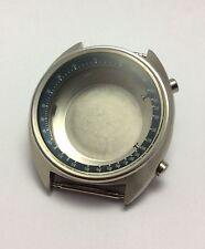 NEW OLD STOCK '1972 VINTAGE SEIKO6139-7030 CHRONOGRAPH CASE SET NEW!! BLUE