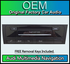 Audi A4 MMI 3G sat nav, Audi Multimedia navigation radio CD player 8R2 035 666 K