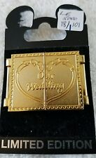 """DISNEY PINS~LE 5000~""""OUR WEDDING""""~MICKEY & MINNIE~MINT"""